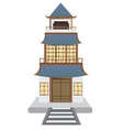 Oriental House vector image