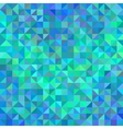 Abstract angle background in blue and turquoise vector image vector image