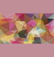 abstract irregular polygonal background pastel vector image