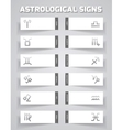 Astrological template vector image