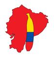 Banana of Ecuador vector image vector image