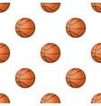 basketballbasketball pattern icon in cartoon vector image vector image