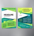 brochure design a4 template vector image vector image
