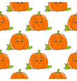 colored seamless pattern with cute cartoon vector image vector image