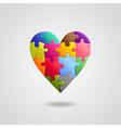 heart color vector image vector image