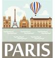 Paris vector image vector image
