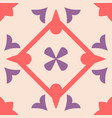 tile pastel decorative floor tiles pattern vector image vector image