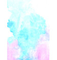 abstract marine blue green mint and purple waterc vector image
