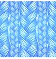 Blue abstract seamless hair pattern vector image vector image
