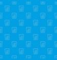 calculator pattern seamless blue vector image