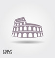 colosseum icon vector image vector image