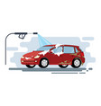 concept for car washing service car wash vector image vector image
