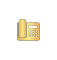 Office Phone computer symbol vector image vector image