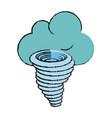 tornado weather disaster vector image