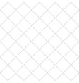 black dash square diamond seamless on white vector image vector image