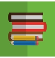 books design learning icon Colorfull vector image vector image
