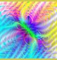 bright symmetric pattern vector image vector image