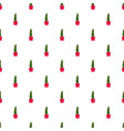 cactus pot pattern seamless vector image vector image
