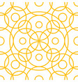 circle pattern including seamless sample vector image vector image