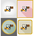 delivery flat icons 09 vector image vector image