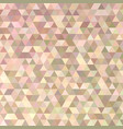 geometric polygonal triangle pattern background vector image vector image