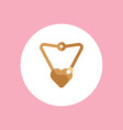 necklace icon sign symbol vector image