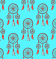 Sketch dream catcher in vintage style vector image vector image