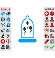 Sperm Protection Icon vector image