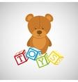 toys icon design vector image