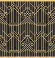 abstract art deco seamless pattern 06 vector image