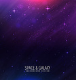 beautiful universe background vector image vector image