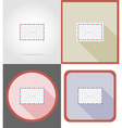 delivery flat icons 10 vector image vector image