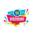 discount up to 50 - creative banner