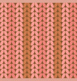 knitting realistic knitted seamless background vector image