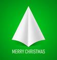 MERRY CHRISTMAS Corner paper 06 vector image vector image