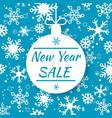 new year sale special offer tag shop market vector image vector image