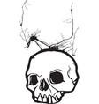 Nightmare Skull vector image vector image