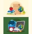bundle back to school poster set accessories