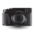 DSLR camera vector image vector image