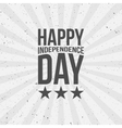 Happy Independence Day festive Text vector image