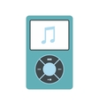 Media player flat icon vector image vector image