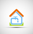 Plumbing system Stock vector image