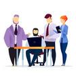 teamwork partnership for get best service vector image vector image