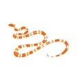 viper snake vector image