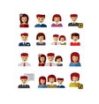 color people vector image