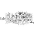 beware raw foods for your dog vector image vector image