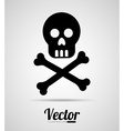 caution icon vector image vector image