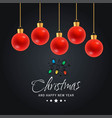 Christmas card design with elegant design and