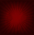 crumpled red paper vector image vector image