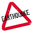 Earthquake rubber stamp vector image